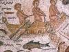 Mosaico en la casa de Hippolytus