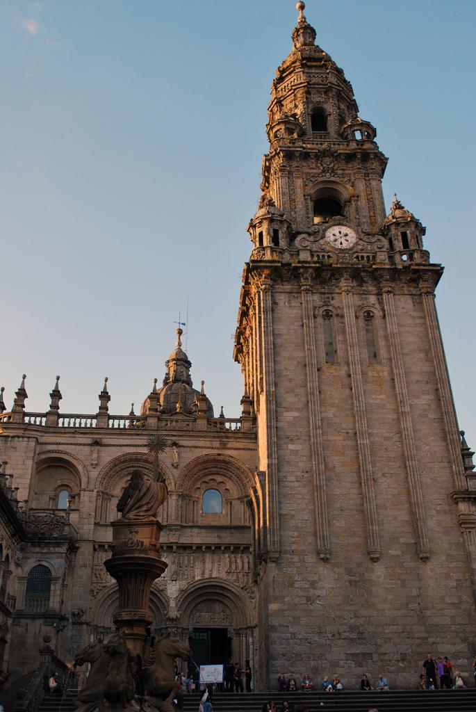 Santiago de Compostela. Catedral. Puerta de Platerías