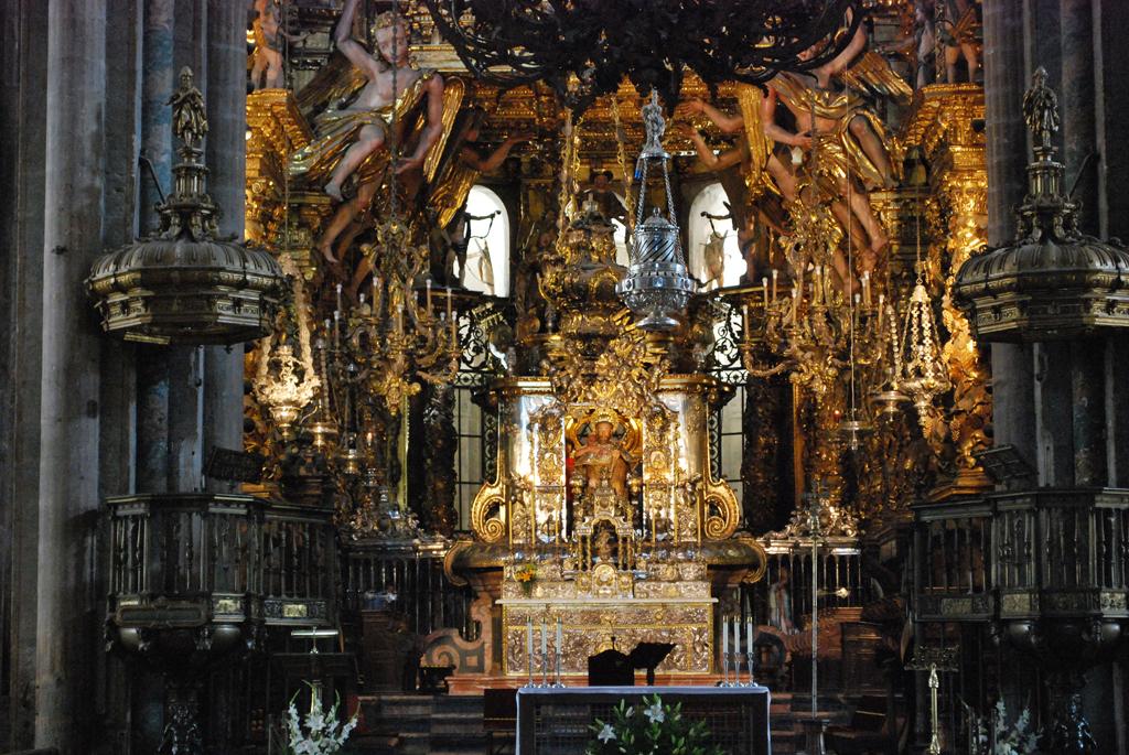 Santiago de Compostela. Catedral. Capilla mayor