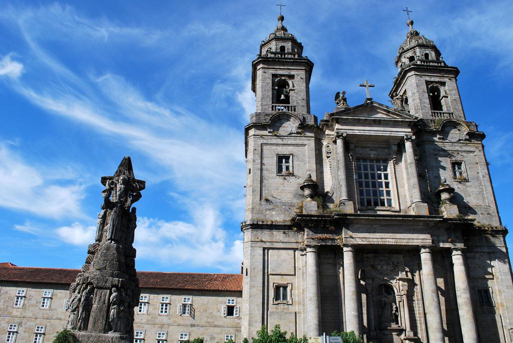 Santiago de Compostela. Convento e Iglesia de San Francisco