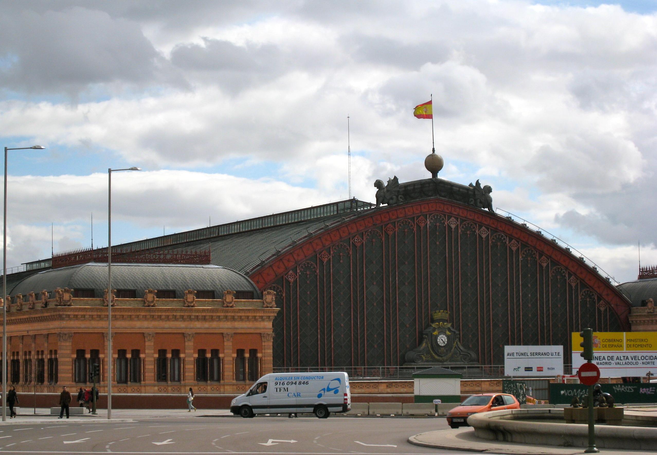 Madrid. Estacion de Atocha