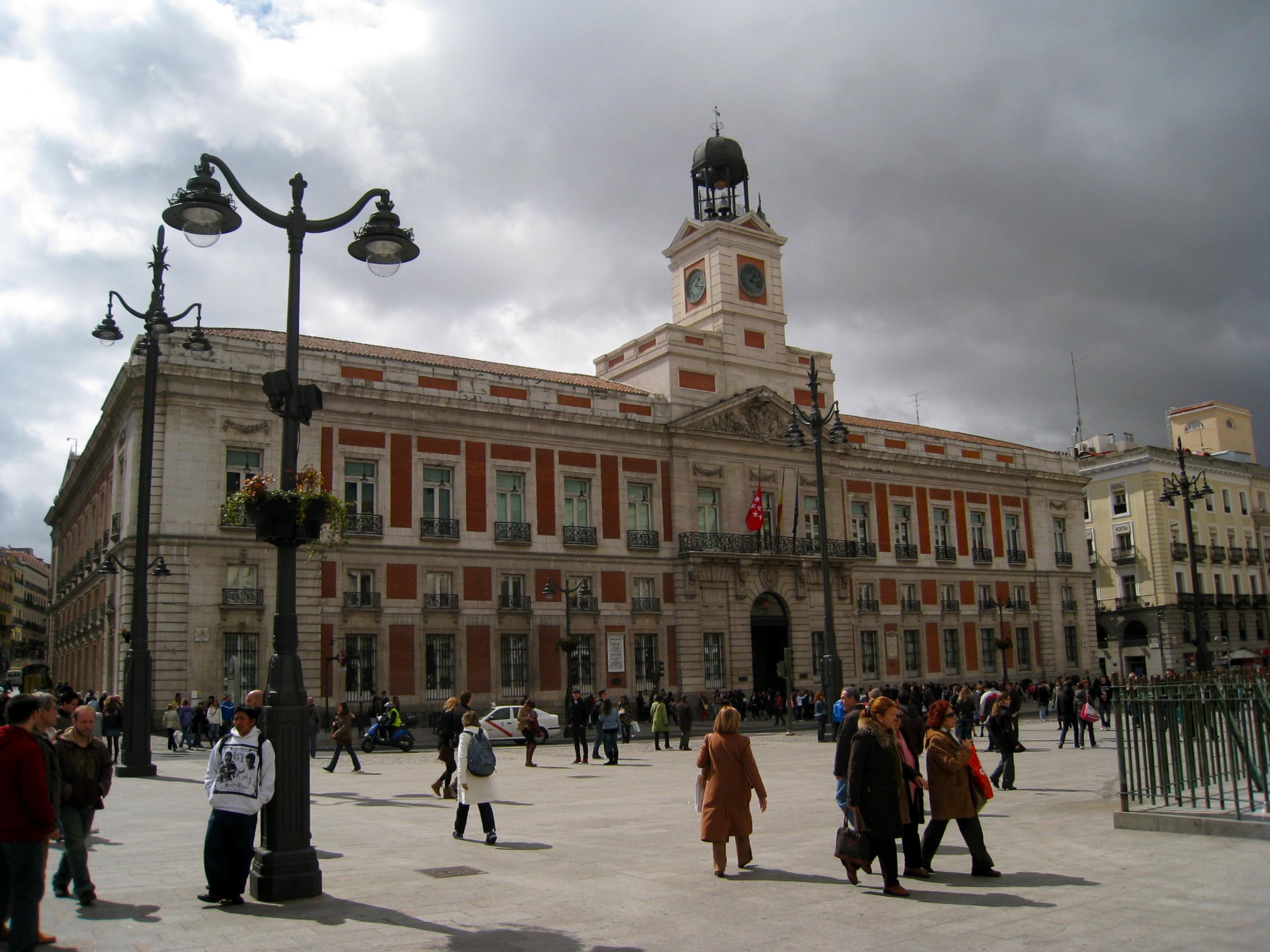 Madrid. Puerta del Sol