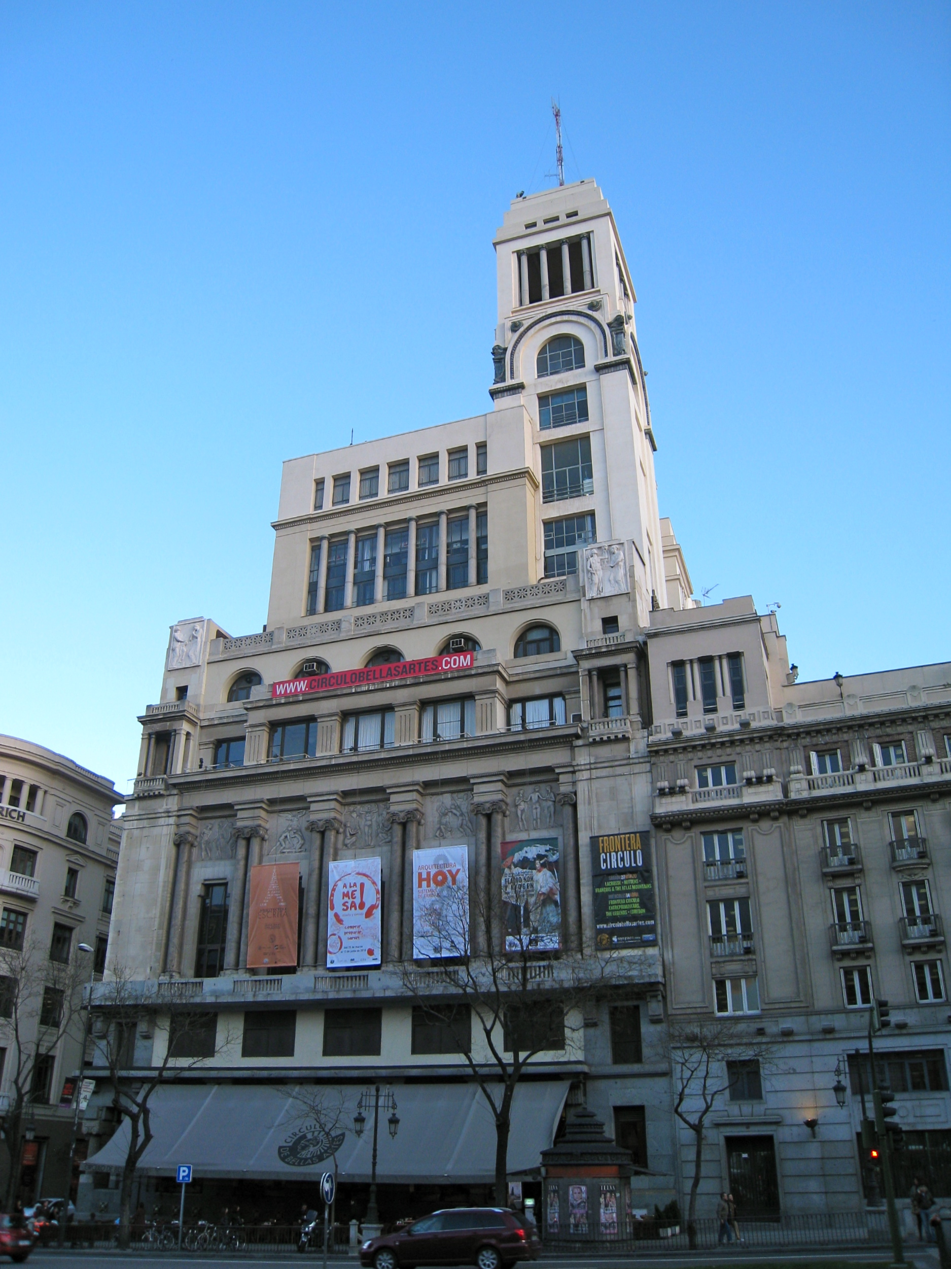 Madrid. Circulo de Bellas Artes