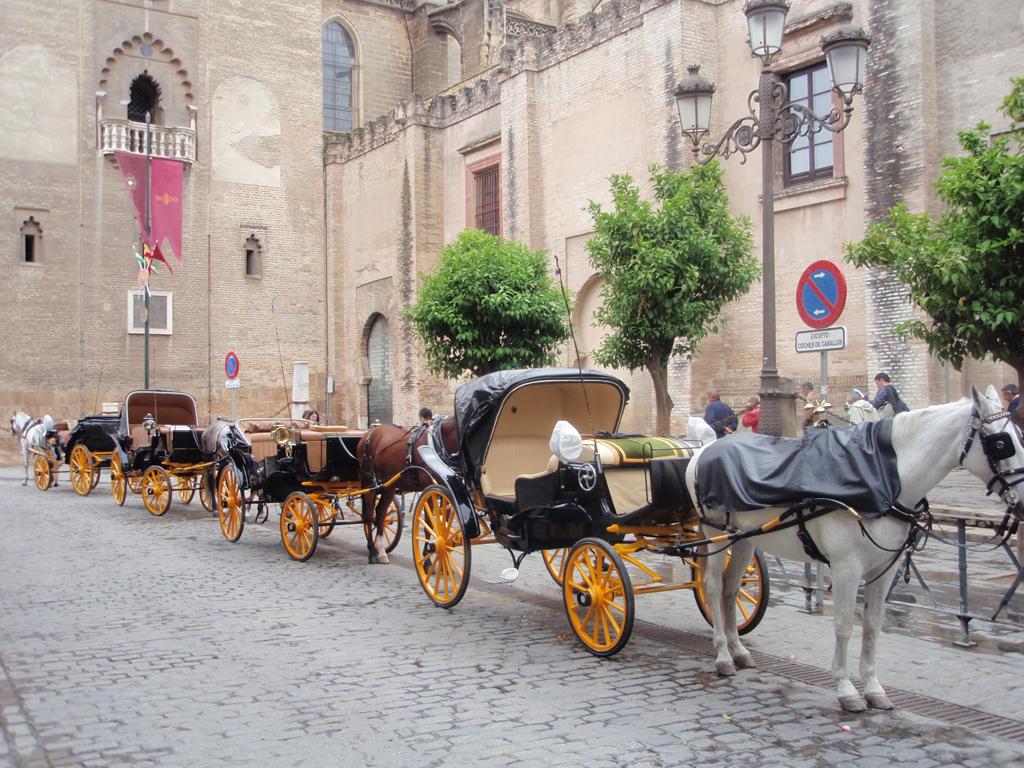 Sevilla, coches de caballos