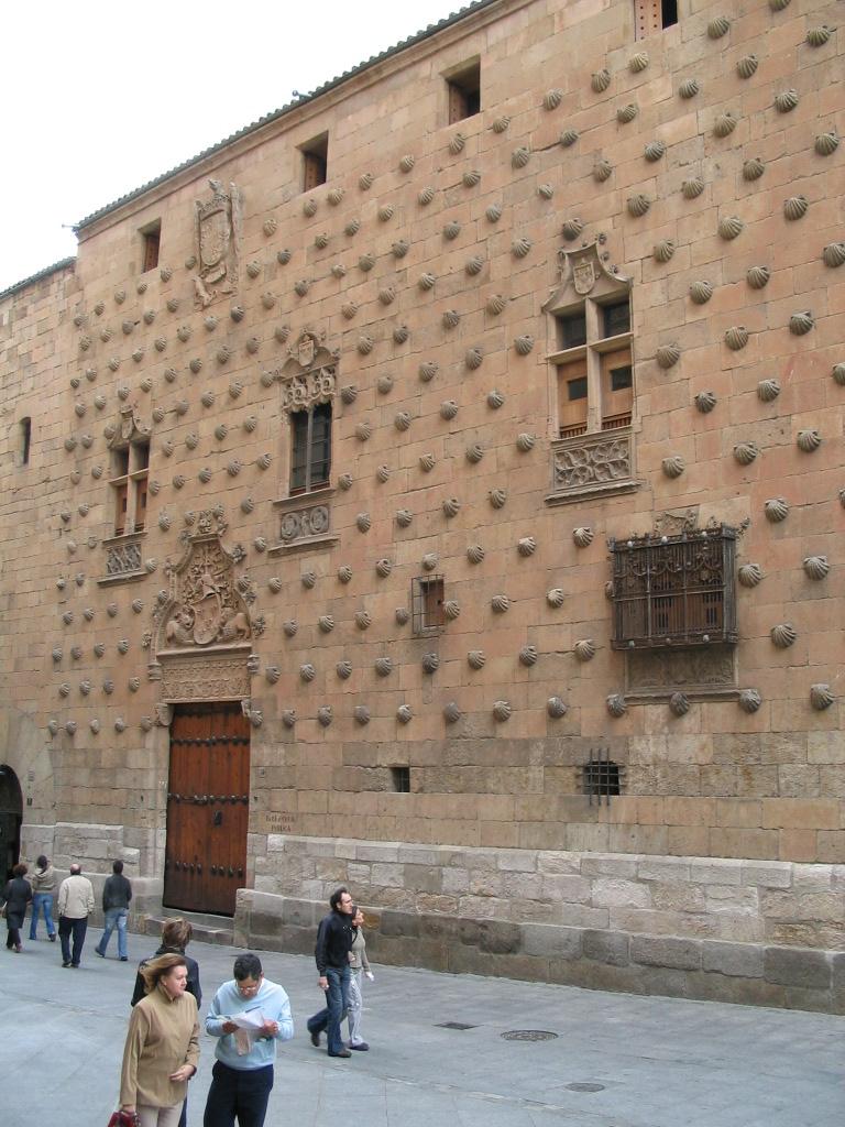 Salamanca. Casa de las Conchas