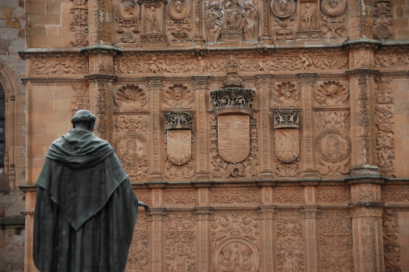 Salamanca. Universidad. Fachada