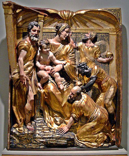 Museo Nacional de Escultura de Valladolid, Adoracion de los Magos de Alonso de Berruguete
