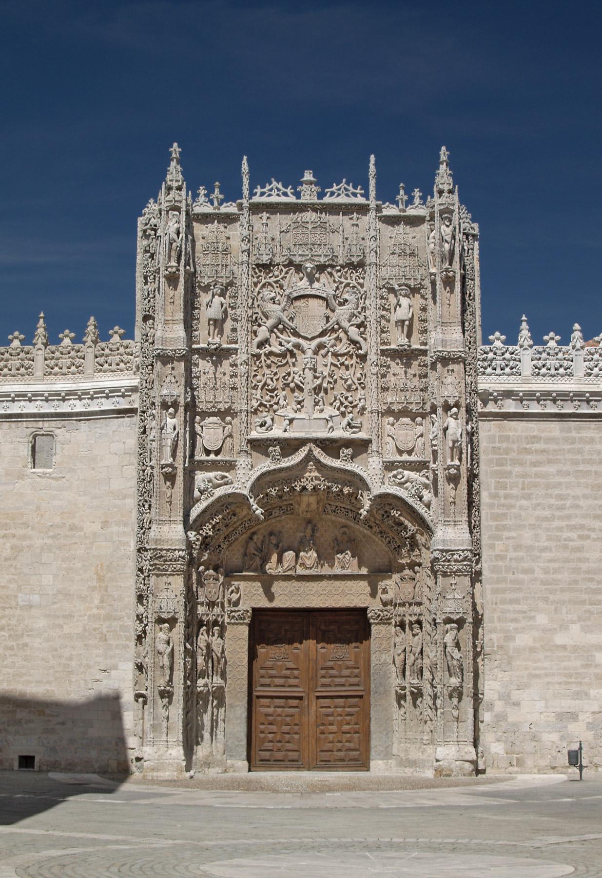Museo Nacional de Escultura de Valladolid, Fachada del Colegio de San Gregorio