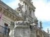Valladolid. Fachada barroca (1716-1718) del edificio de la Universidad, hoy Facultad de Derecho